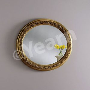 ART144 Ornate Oval Mirror