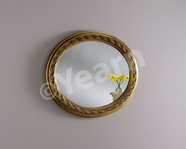 ART144 Ornate Oval Mirror