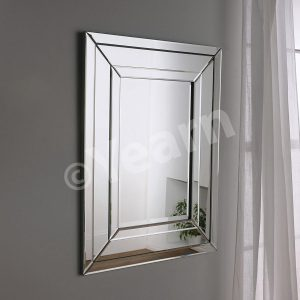 ART 480 Silver Rectangular Mirror
