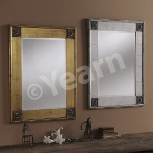 YG 38 Rectangular Swept Mirror