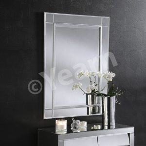ART 280 Contemporary Mirror Silver
