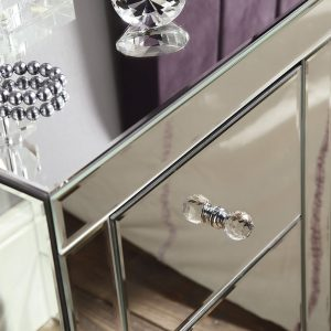 MF 20 Mirrored Bedside Unit detail