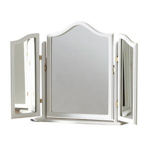 YG23 White Triple Vanity Mirror