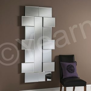 ART 795 Decorative Art Deco Mirror