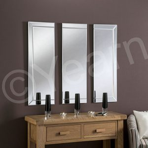 Triple Panelled Mirrors