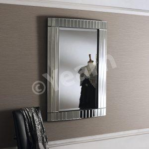 Bogota Silver Rectangular Mirror