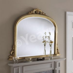 YG 99 Ornate Over Mantle Mirror