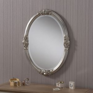ART142 rose detailed mirror SILVER