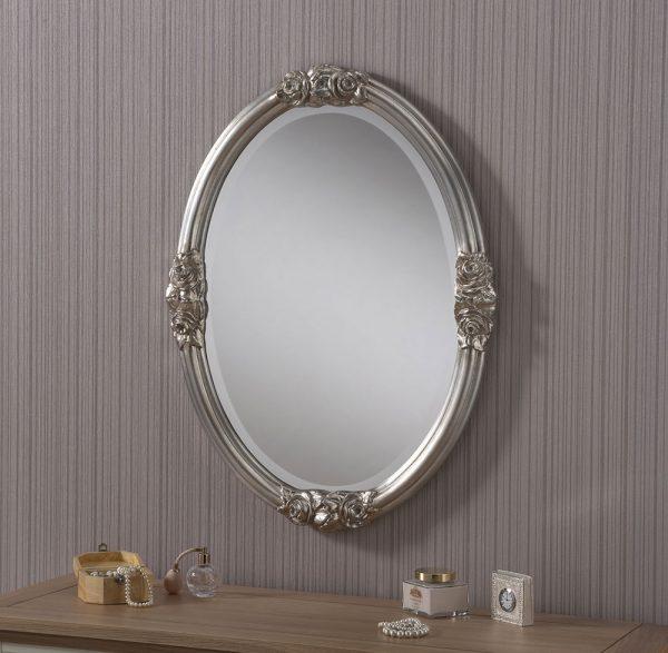 ART142 rose detailed mirror SILVER