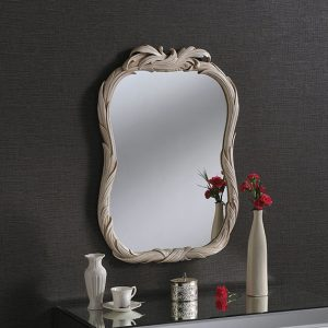 ART245 small portrait mirror IVORY