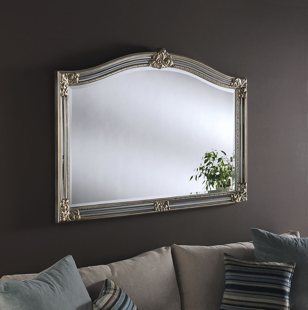 ART254 Stunning Mantle Mirror