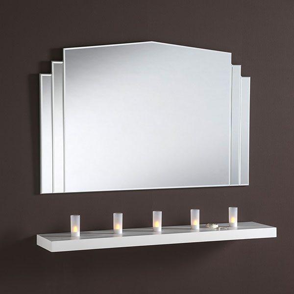 ART270 Glass Mantle Mirror