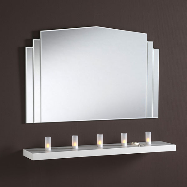 ART270 Glass Mantle Mirror