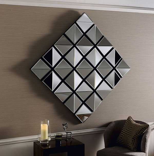 ART465 Angled Statment Mirror