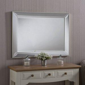 ART595 Angled Frame Mirror