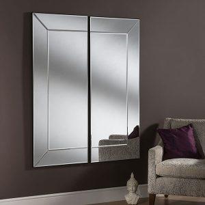 Chelsea 2 panel mirror