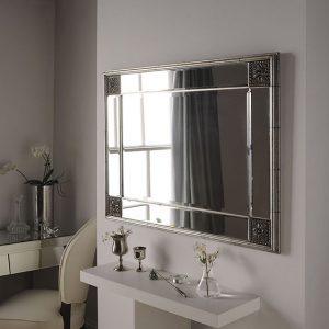 ELEGANCE mirror Silver