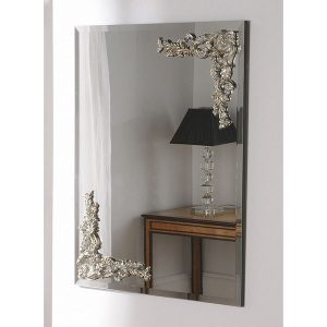 LOMBARDY Double carving mirror