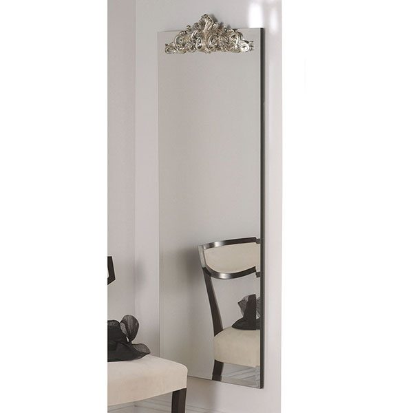 LOMBARDY Single carving mirror