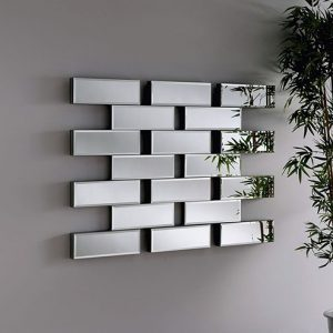 MAZE-L Brick effect Mirror