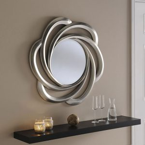 YG167 Mirror with Pretzel Shape
