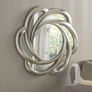 YG168 Large Swirl Mirror
