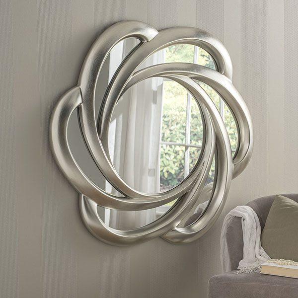 YG168 Large Swirl Mirror