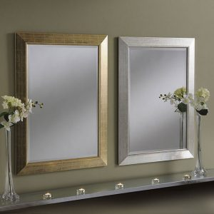 YG212 two tone framed mirror