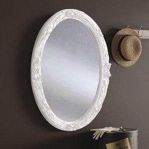 YG230 Oval Mirror white