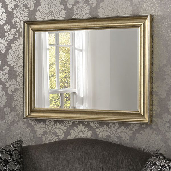 YG601 Deep Scooped Mirror Champagne
