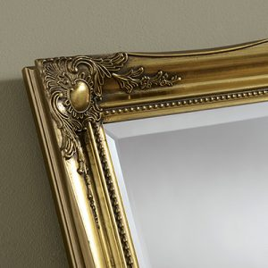 YG619 Baroque MIrror gold-detail