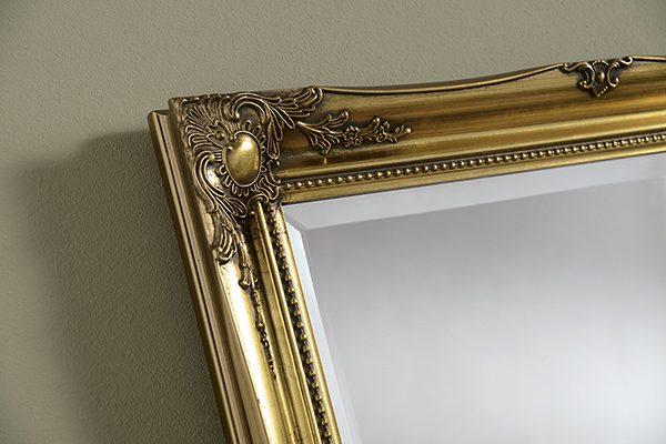 YG619 Baroque MIrror gold-detail