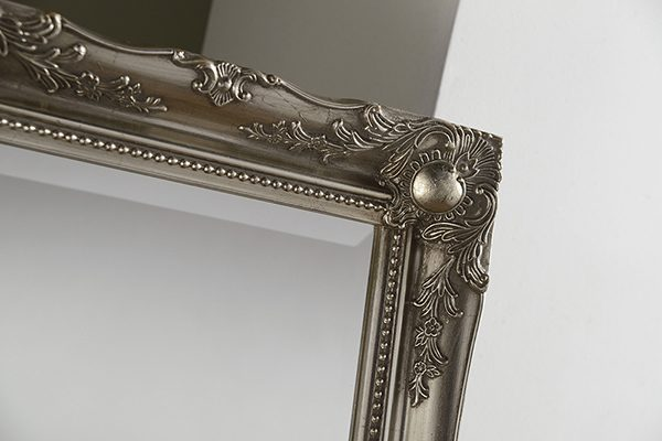 YG619 Baroque MIrror silver-detail