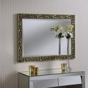 YG675 Two Tone frame Mirror