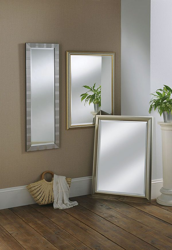 YG742 slim scooped frame mirror 2
